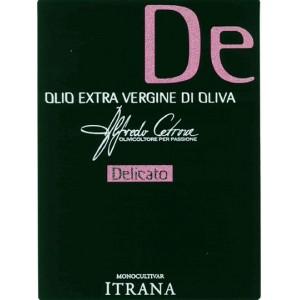 """OLIO EXTRA VERGINE DI OLIVA """"CETRONE DELICATO""""- CETRONE"""